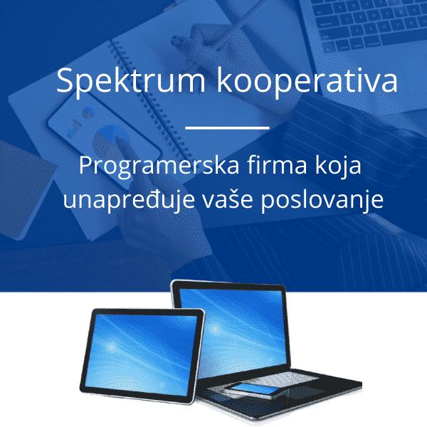 spektrum kooperativa programerska firma